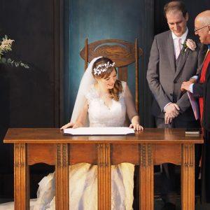 Wedding at Mackintosh Queen's Cross